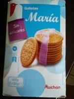 Galletas María sin azúcares - Producto - es