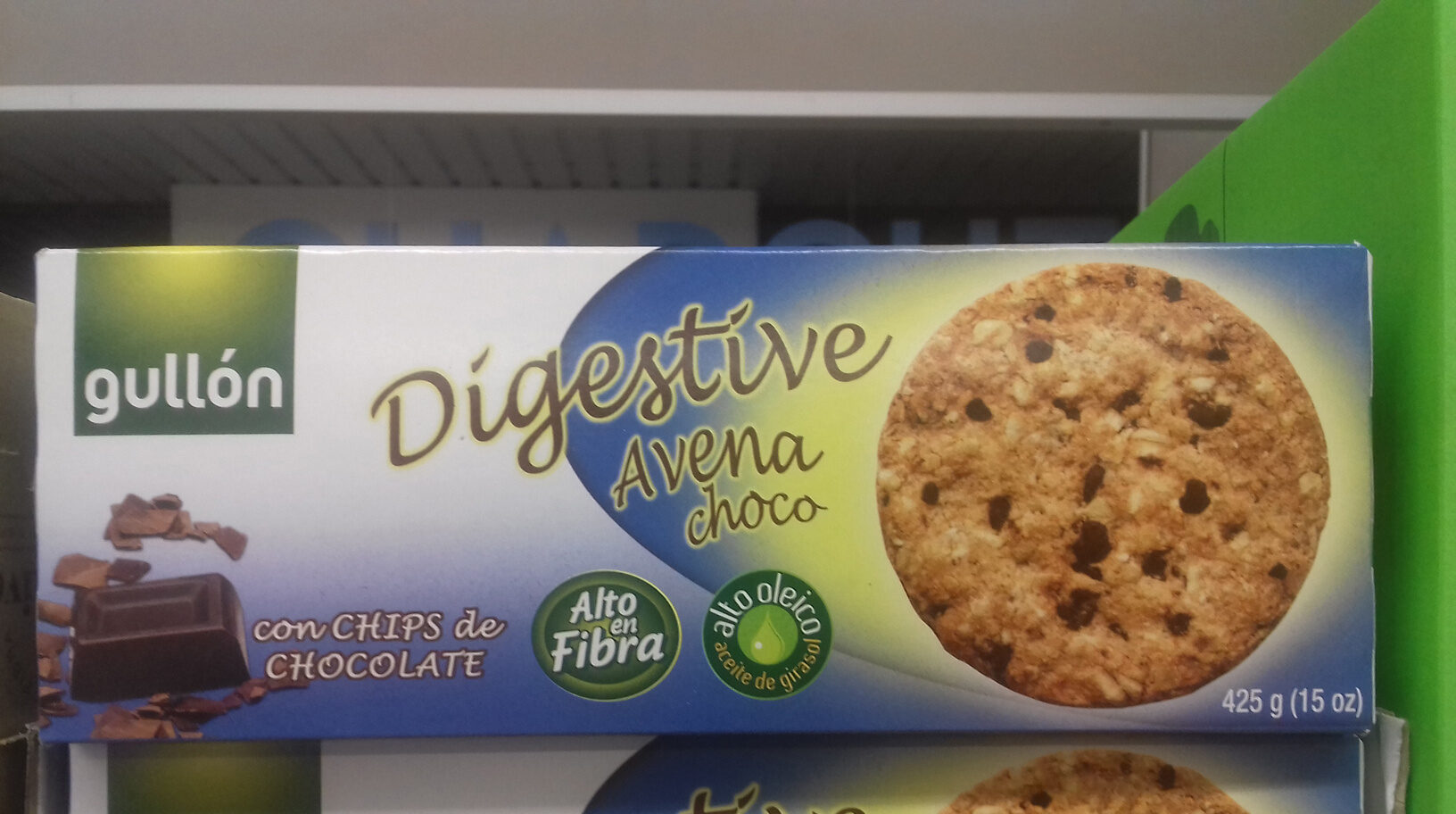 Galletas digestive avena choco - Product - en