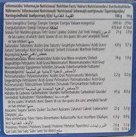 Digestive Avena chocolate - Información nutricional