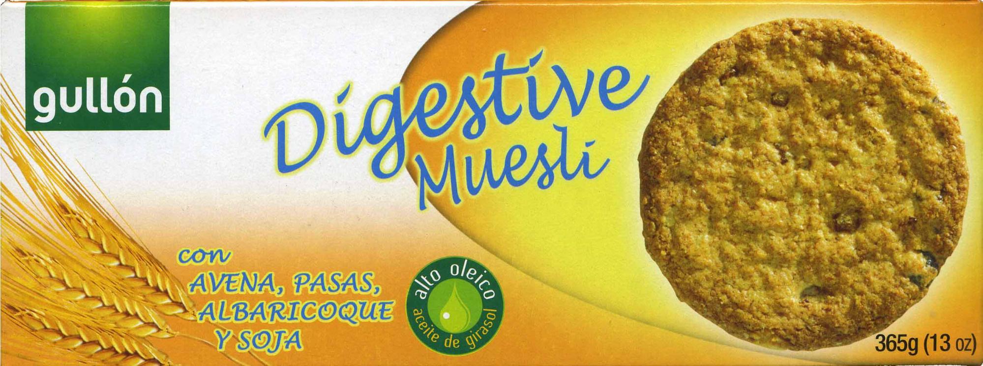 Digestive muesli - Producto - es