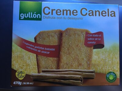 Galleta Gul.creme Canela - Product - en