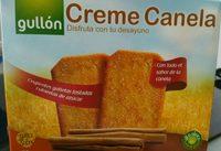 Galleta Gul.creme Canela 470GR - Información nutricional