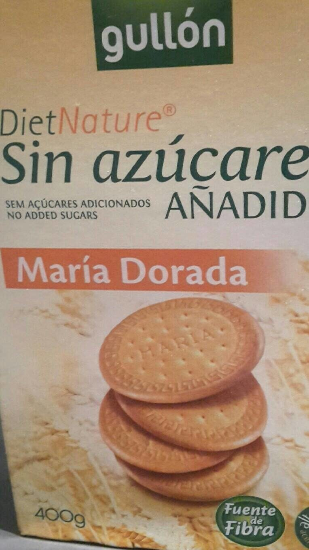 Diet Nature maría dorada sin azúcares - Product - fr