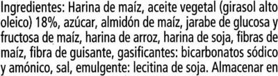 Galleta Maria sin gluten - Ingredientes - es