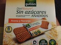 Gullon Diet Avena Naranja - Producto