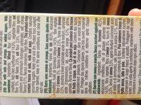 Gullon Diet Avena Naranja - Ingredientes