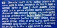 Galletas bolachas sandwich - Ingredientes
