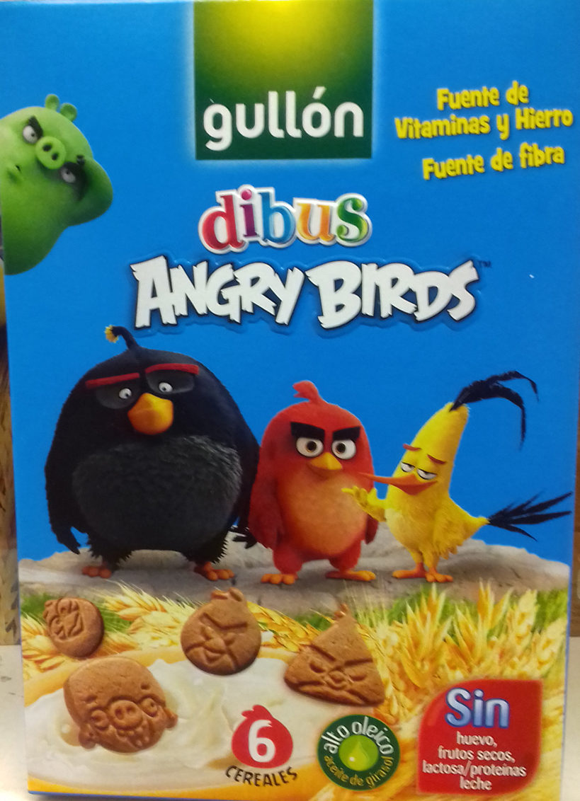 Galletas dibus Angry Birds - Product