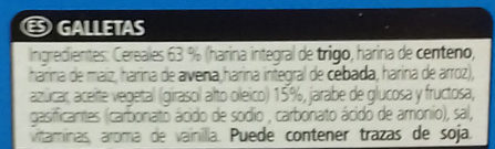 Galletas dibus Angry Birds - Ingredients - es