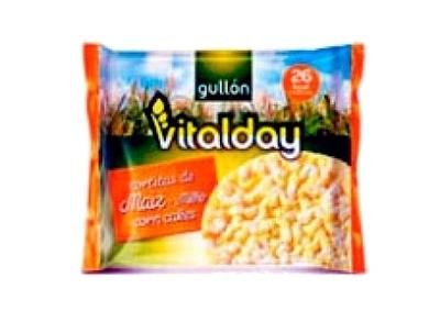 Tortitas de maiz Vitalday - Producto
