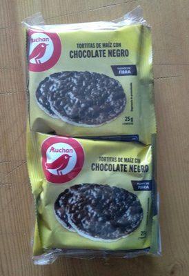 Tortitas de maíz con chocolate negro - Produit - fr