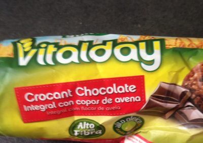 Vitalday crocant chocolate - Produit - fr