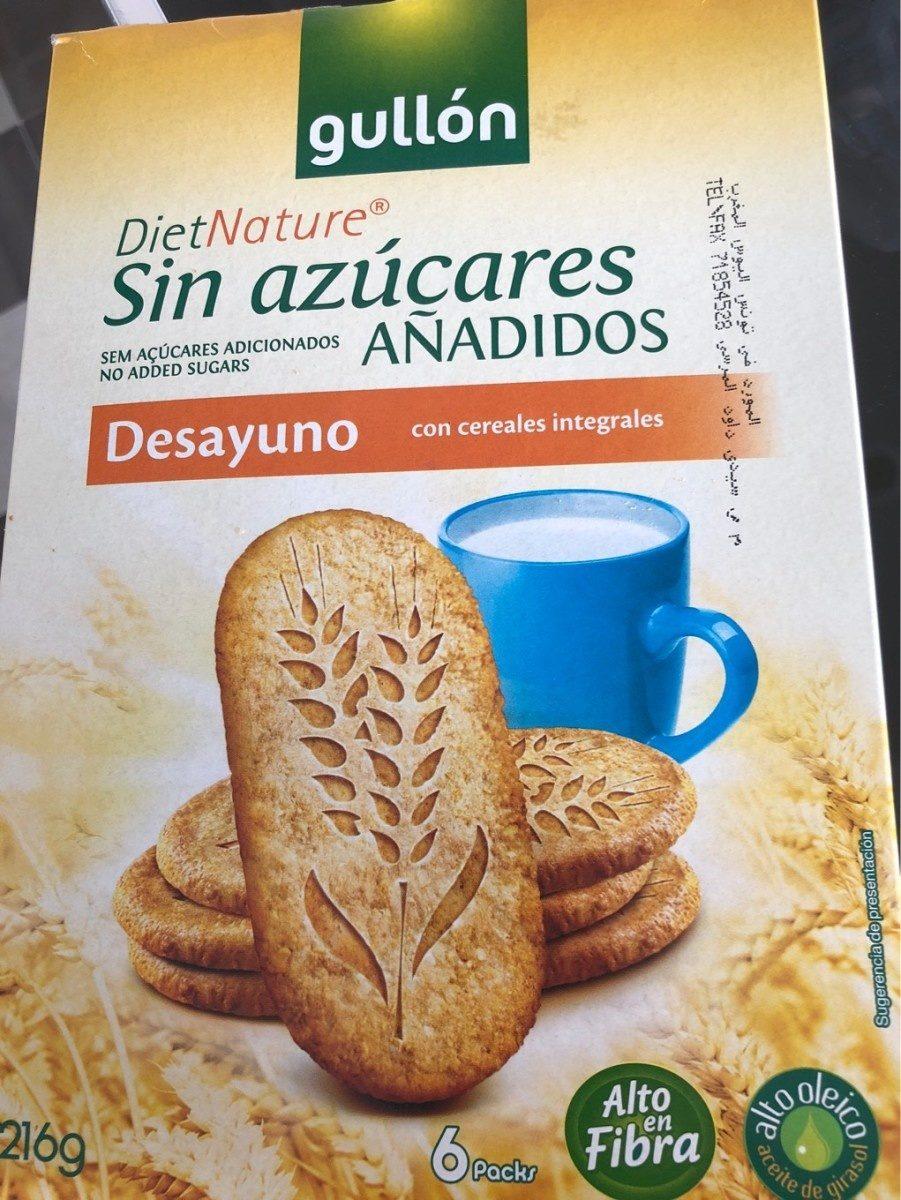 Galletas de desayuno con cereales integrales - Producto