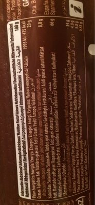 Mega Duo Doble Cacao - حقائق غذائية - fr