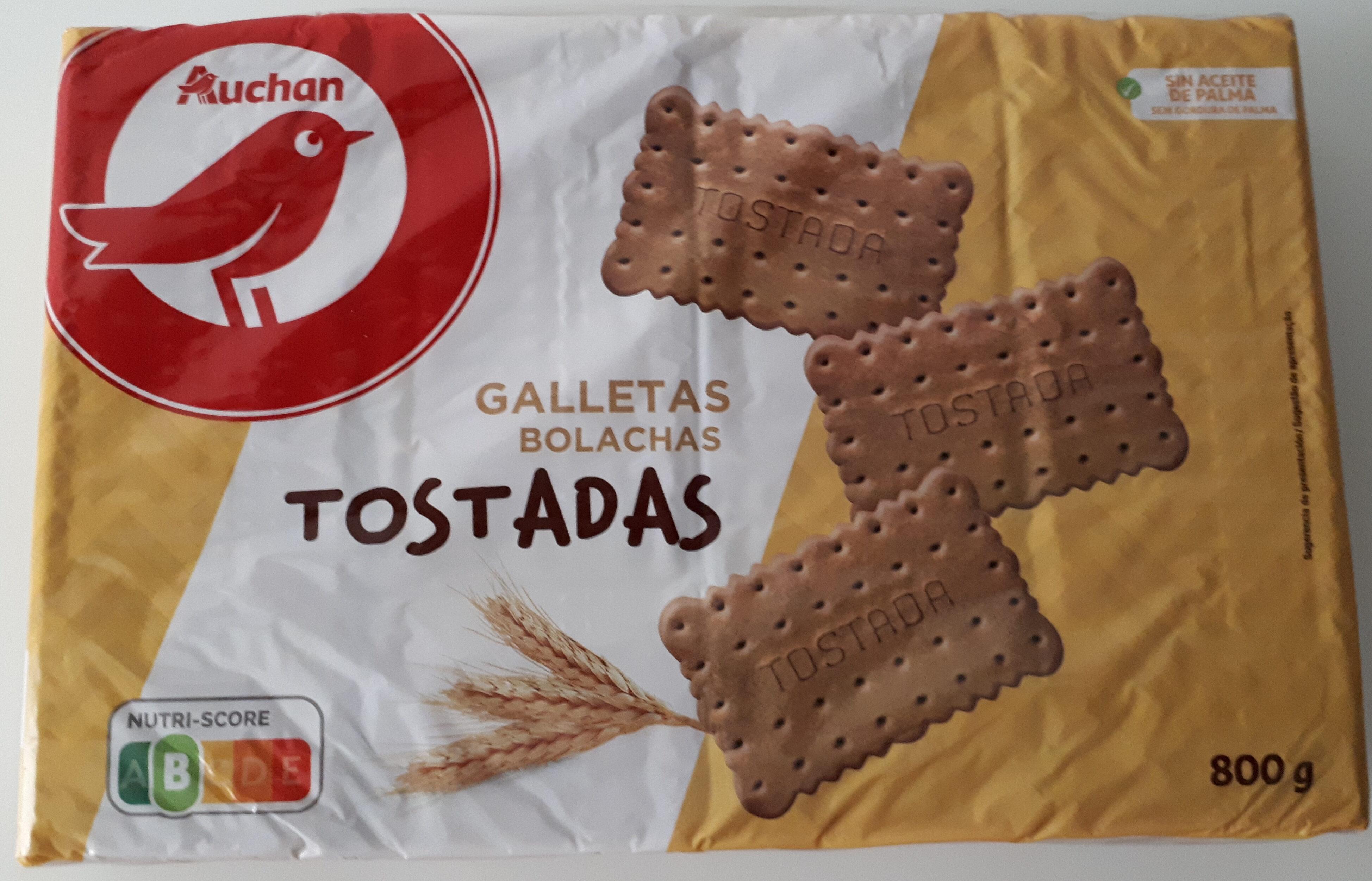 Galletas Tostadas - Produit - es