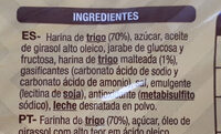 Galletas Tostadas - Ingrédients - es
