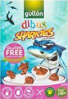 Gluten Free Sharkies Chocolate - Produit - es