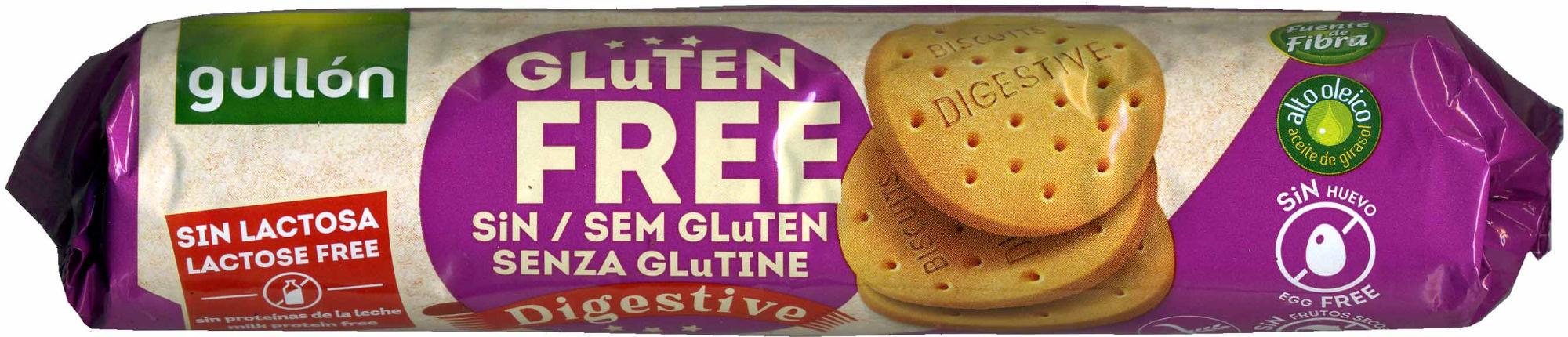 Digestive Sin Gluten - Producte