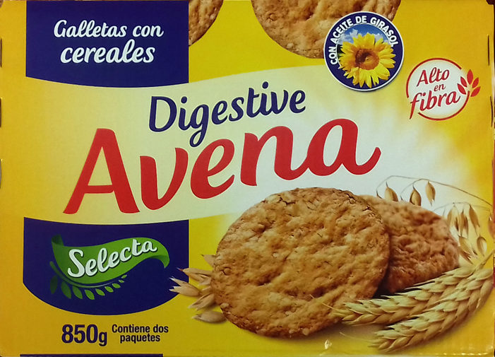 Digestive Avena - Producto