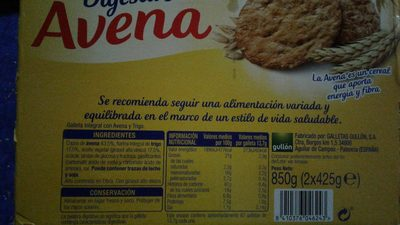 Digestive Avena - Produit - fr
