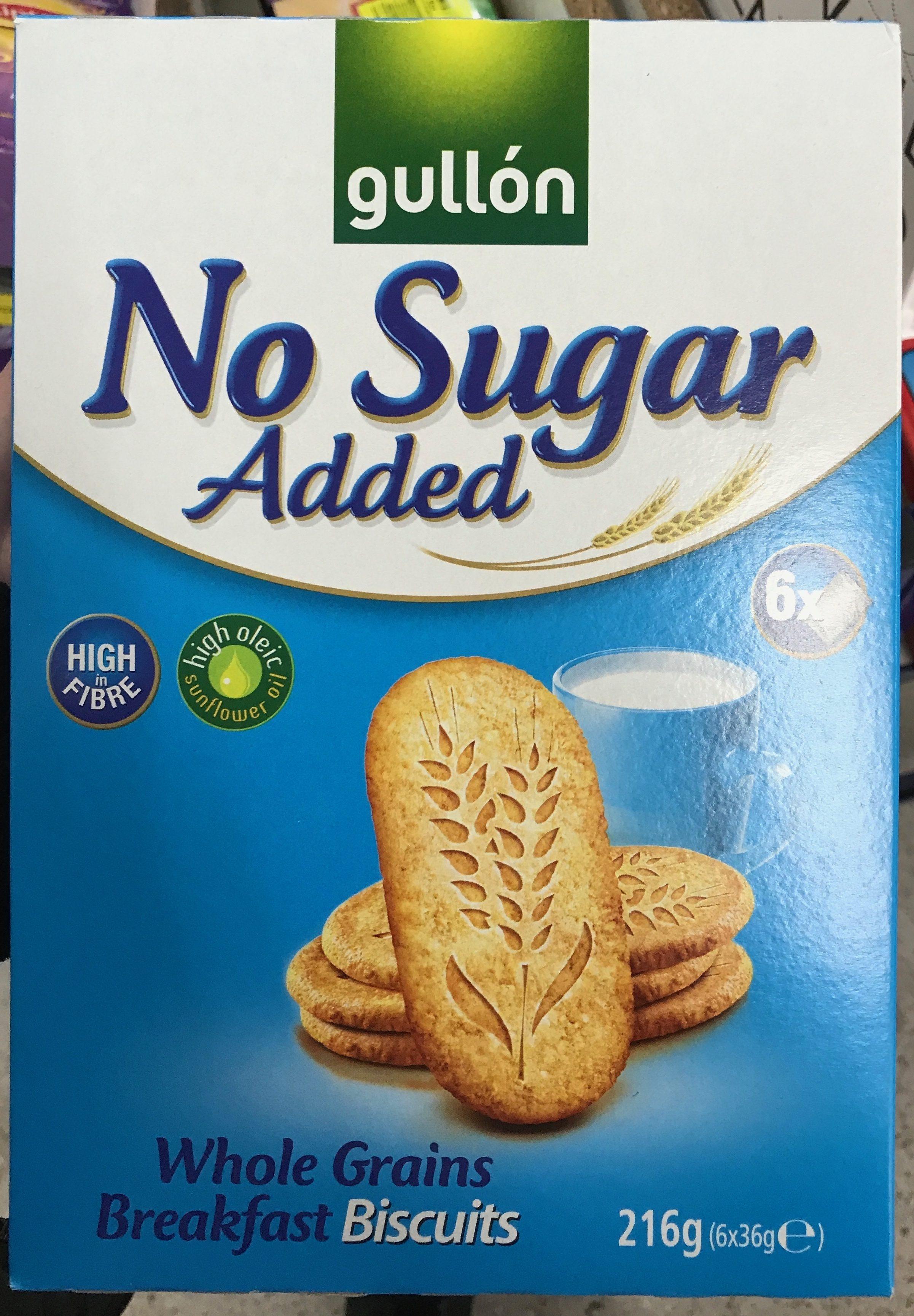 Biscuits Petit-Déjeuner Céréales Complètes Sans Sucre Ajouté - Producte