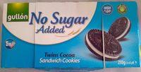Sandwich Cookies sans Sucre Ajouté - Product