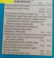 Sandwich Cookies sans Sucre Ajouté - Voedingswaarden