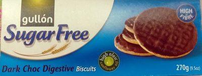 Biscuits Digestives au Chocolat Noir - Sans Sucre - Product