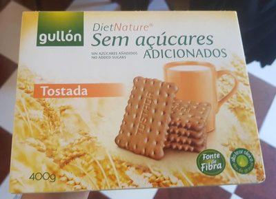 Gullon Sugar Free Diet Tostada 400G - Producto