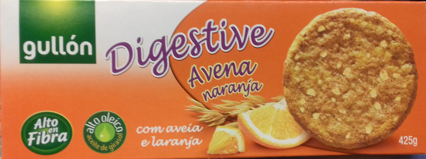 Digestive Avena naranja - Produit - es