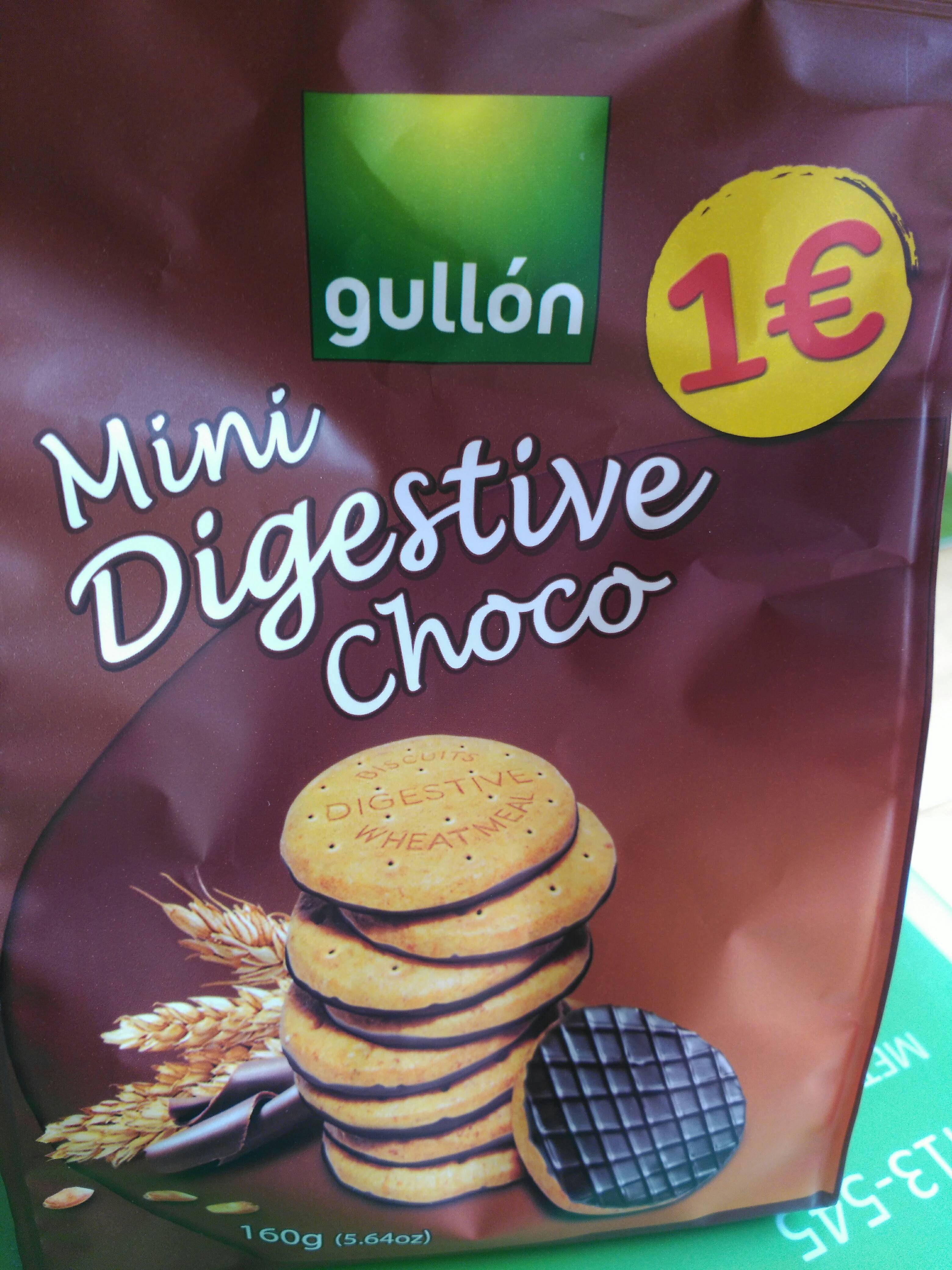 Mini Digestive Choco - Producte - es