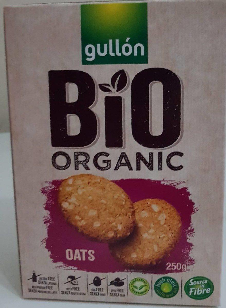 Bio organic galletas de desayuno de avena ecológicas - Produit - en