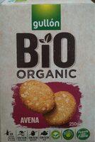 Bio organic galletas de desayuno de avena ecológicas - Informations nutritionnelles - en
