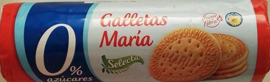 Galletas María 0% azúcares Selecta - Producto