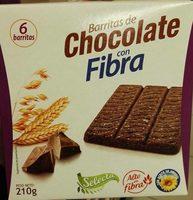 Barrita de chocolate con fibra Selecta - Producte - es
