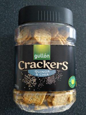 Crackers (quinoa y chía) - Producto - es