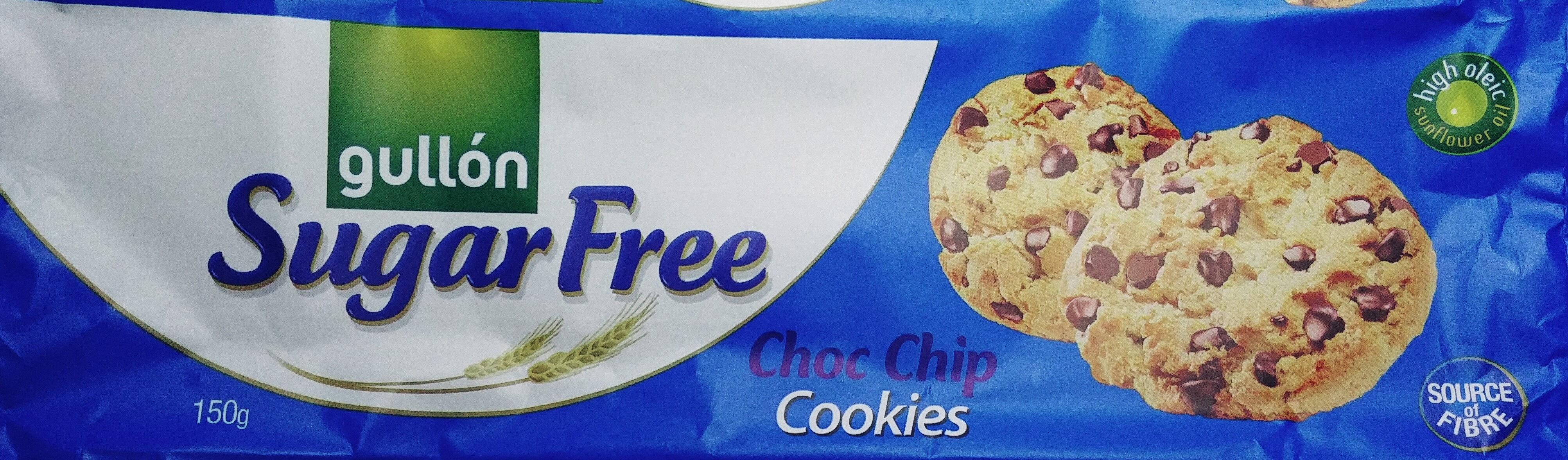 Sugar Free Choc Chip Cookies - Produkt - pl