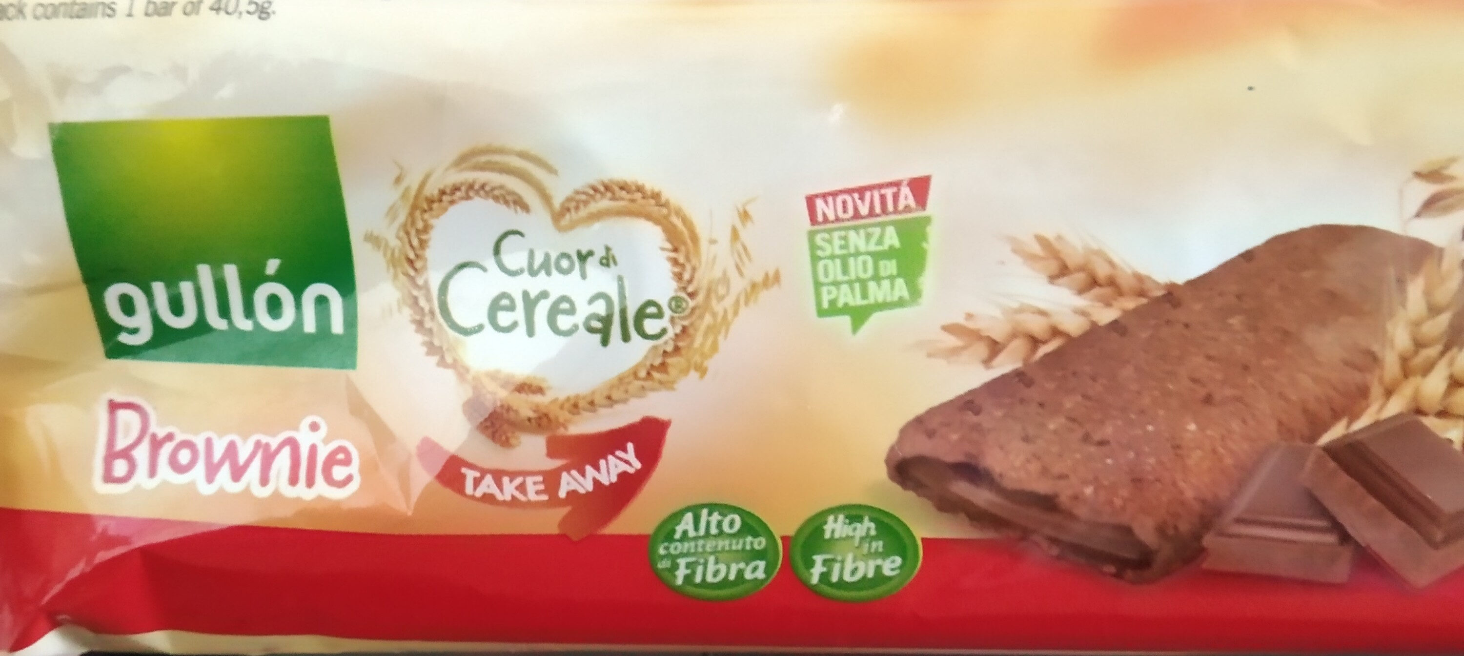 cuor di cereale brownie - Product