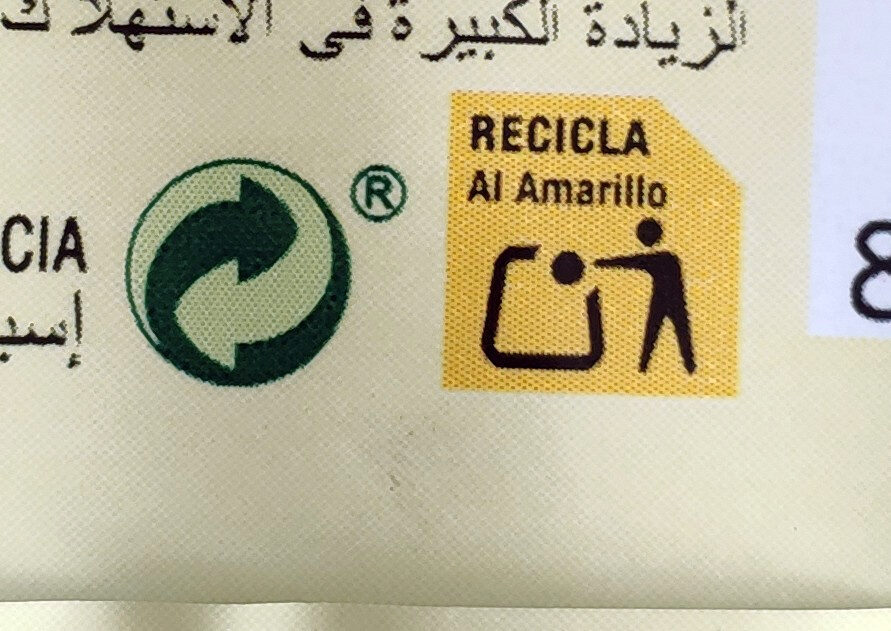 Barquillos de vainilla DietNature - Recycling instructions and/or packaging information - pt