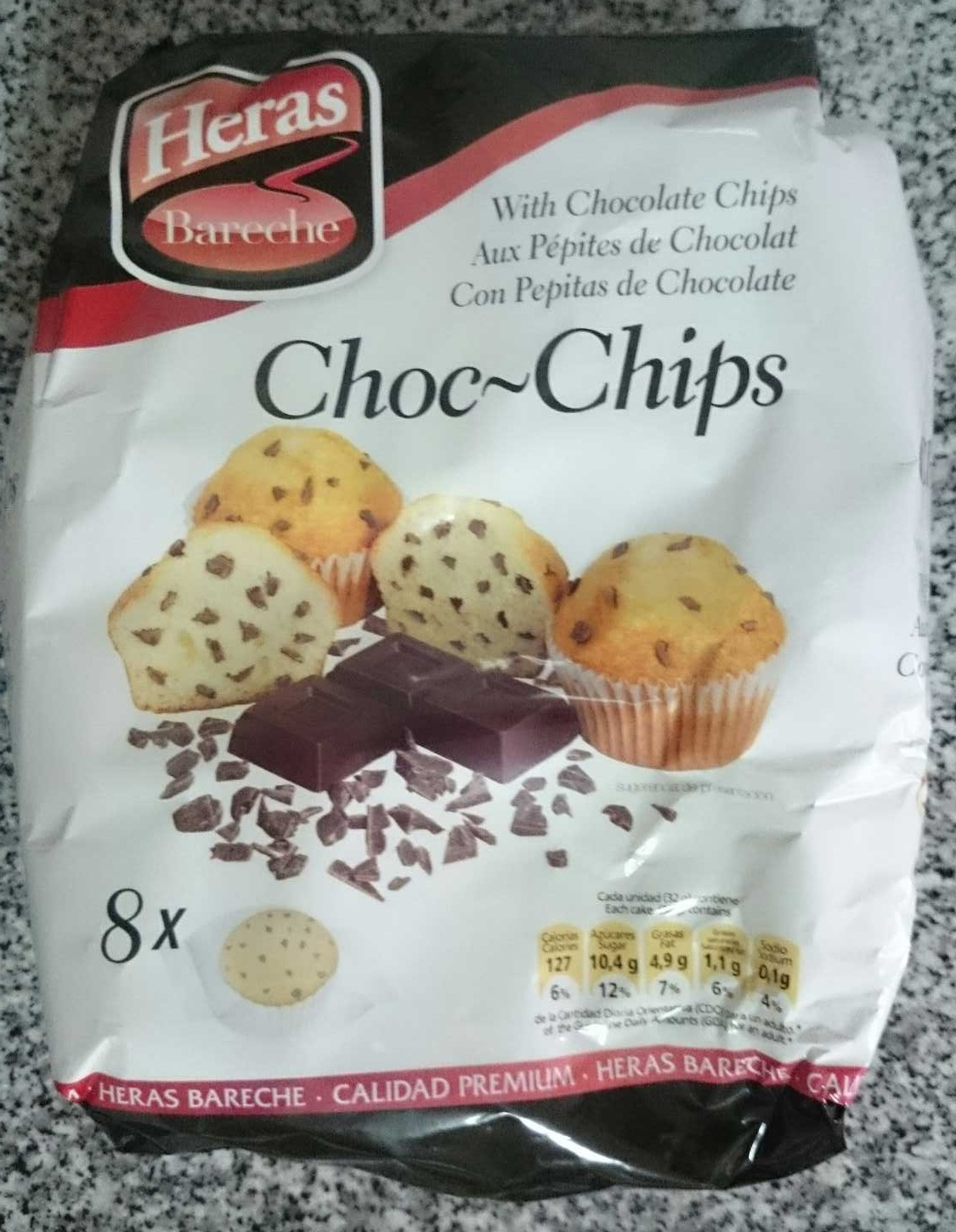 Choc-Chips - Product - pt