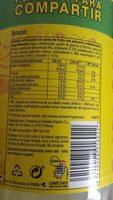 Kas Limón - Ingredientes - fr