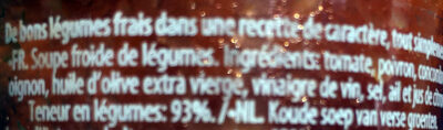 Gazpacho original - Ingrediënten