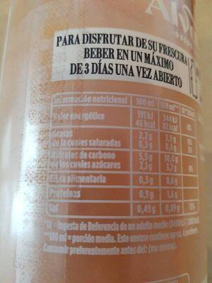 Salmorejo cordobés sin gluten botella 750 ml - Información nutricional
