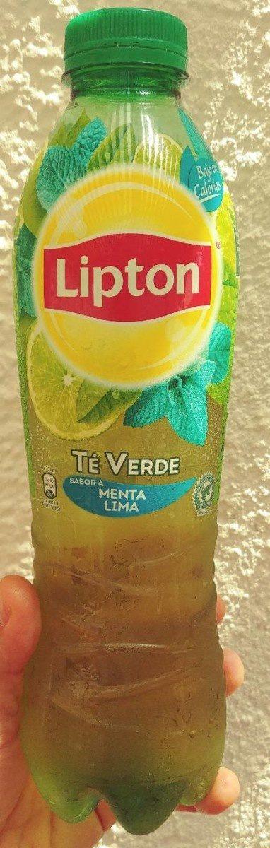 Refresco de té verde sabor a menta lima bajo calorías - Product - fr