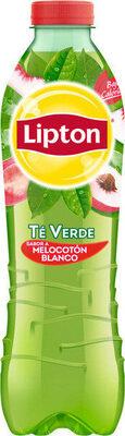 Refresco de té verde sabor melocotón blanco bajo calorías - Product - fr
