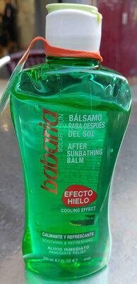 after sunbathing balm - Producto - en
