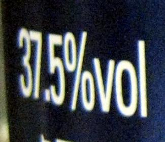 Vodka - Informations nutritionnelles - fr