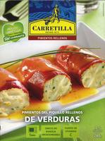 Pimientos del piquillo rellenos de verduras - Producto - es