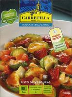 Pisto de verduras sin gluten - Producto