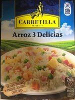 Arroz tres delicias sin gluten - Product - es